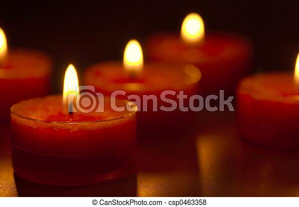 Candles - csp0463358