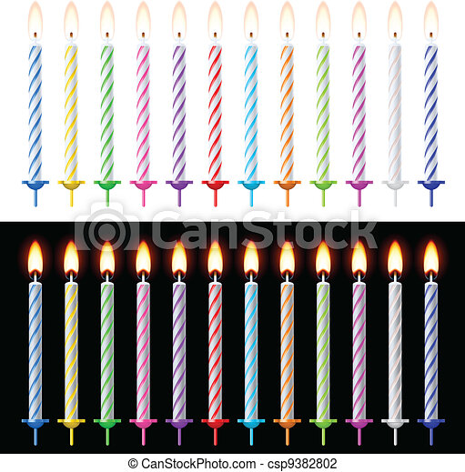 Candles Set - csp9382802