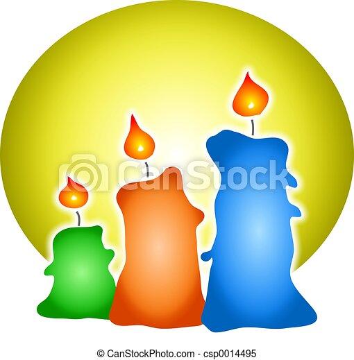 Candles - csp0014495