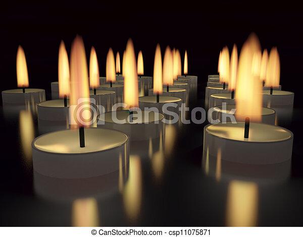 candles - csp11075871