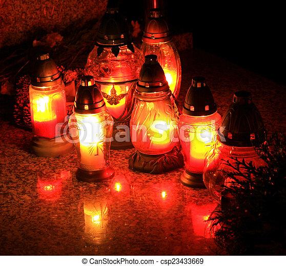 Candles - csp23433669