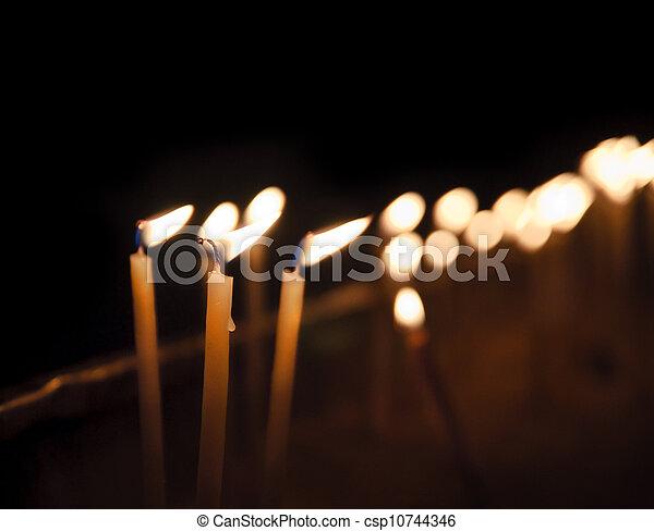 Candles - csp10744346
