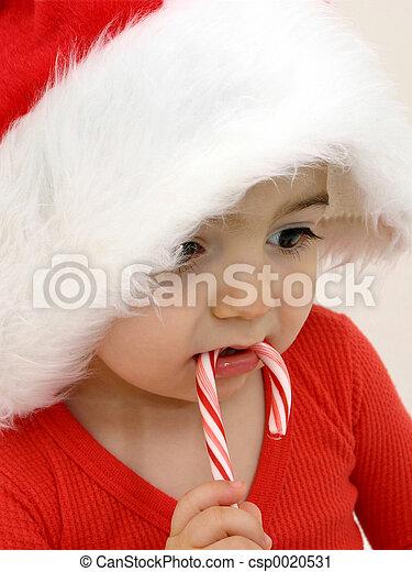 Candy Cane Boy - csp0020531