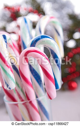 candy cane - csp11866427