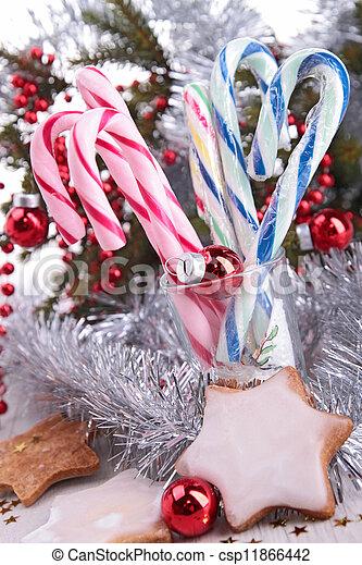 candy cane - csp11866442