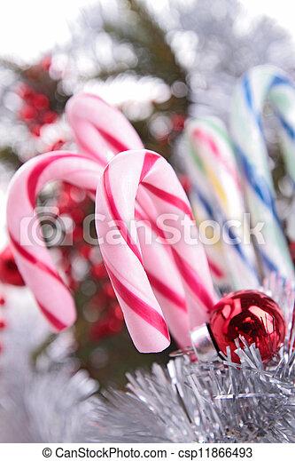 candy cane - csp11866493