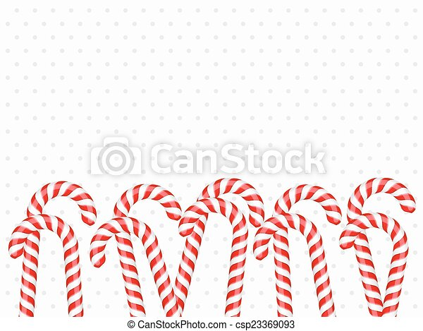 Candy Canes - csp23369093