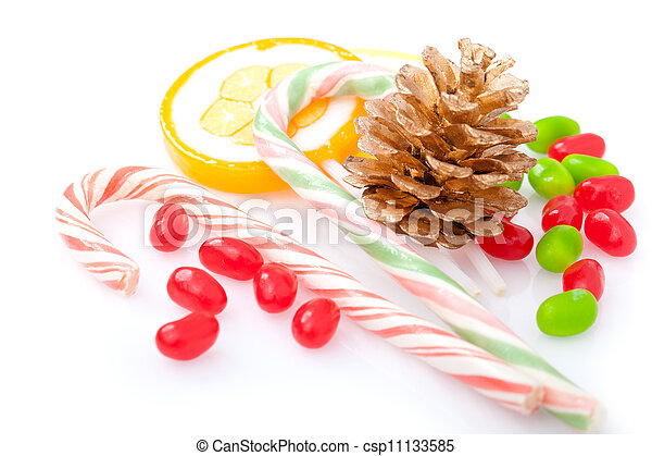 candy canes - csp11133585