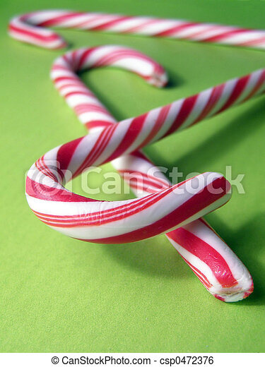 Candy Canes - csp0472376
