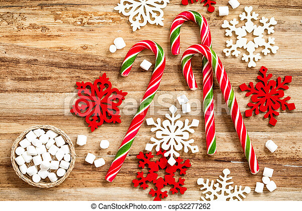 candy canes - csp32277262