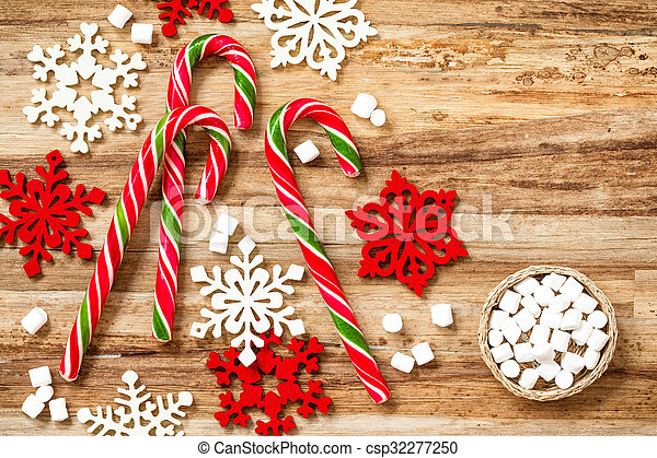 candy canes - csp32277250