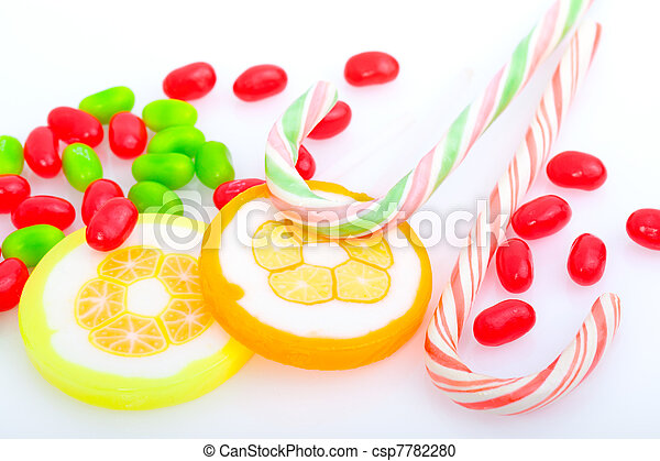 candy canes - csp7782280