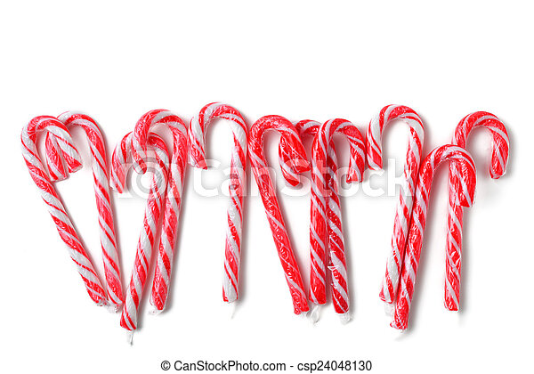 candy canes - csp24048130