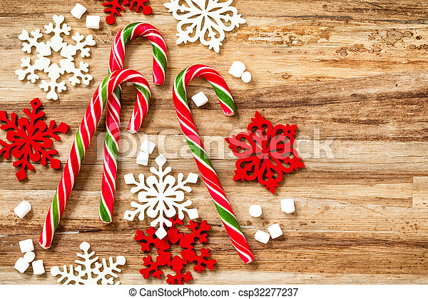 candy canes - csp32277237