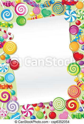 candy card - csp6352054