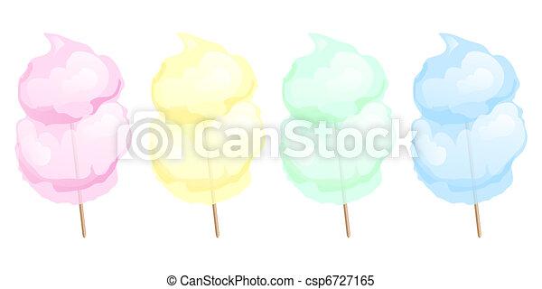 Candy floss - csp6727165