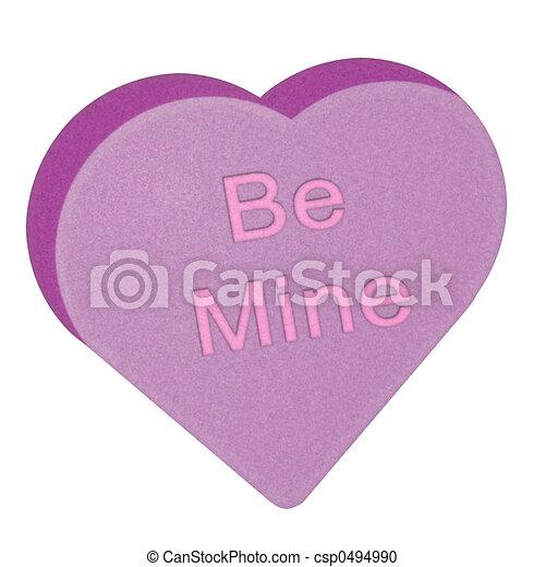 Candy Heart - csp0494990
