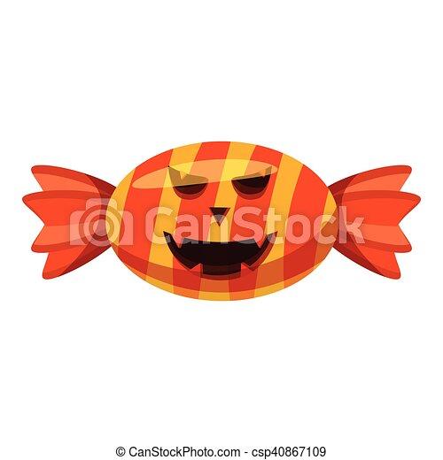 Candy icon, cartoon style - csp40867109