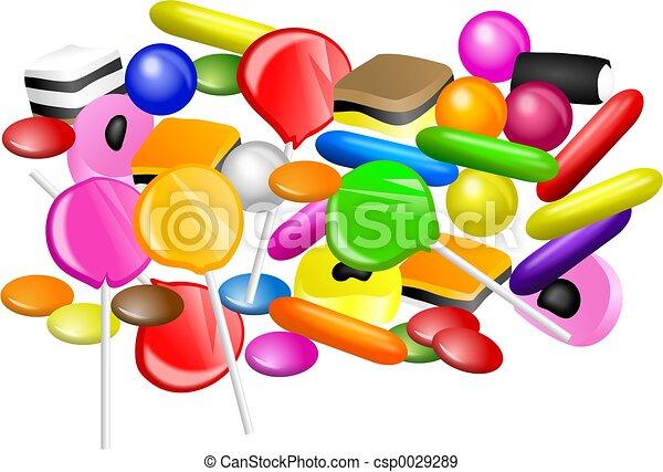 Candy Mixture - csp0029289