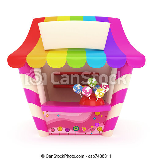Candy Store - csp7438311