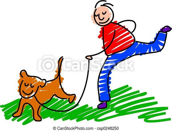cane ambulante - csp0248250