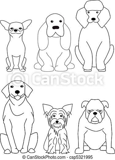 cane, collezione - csp5321995