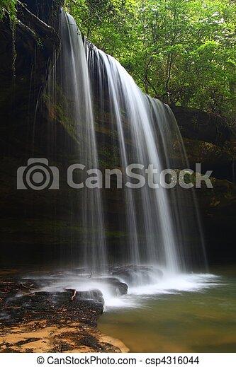 Caney Creek Falls in Alabama - csp4316044