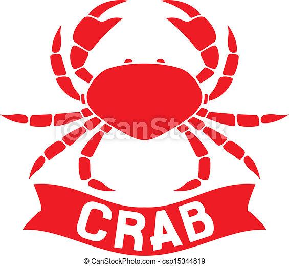 La etiqueta de cangrejo - csp15344819