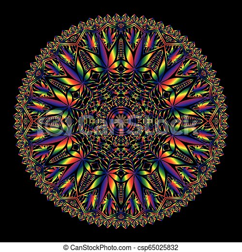 "Image result for cannabis mandala"""