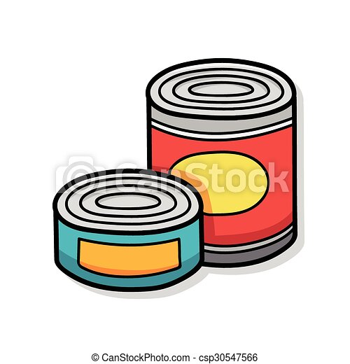 canned food doodle clip art vector search drawings and graphics rh canstockphoto com can food clipart free dog food can clipart
