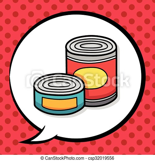 canned food doodle clipart vector search illustration drawings rh canstockphoto com canned food clipart images canned food border clipart