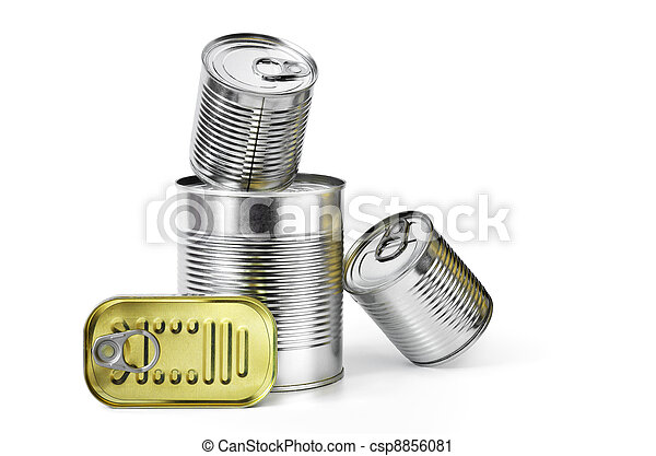 Canned Food - csp8856081