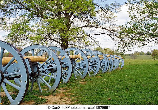Cannons at Valley Forge - csp18629667