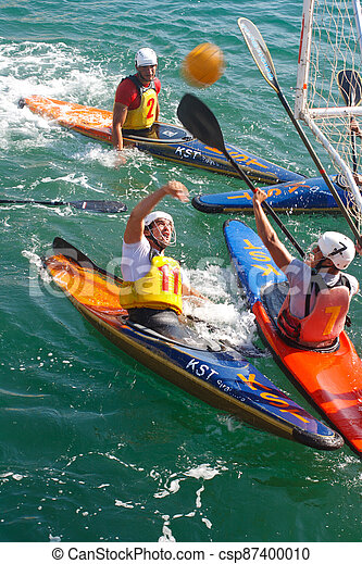 Canoe polo competition - csp87400010