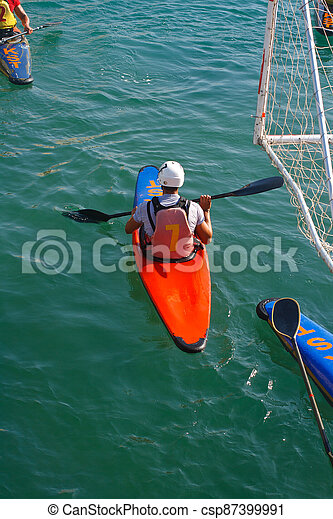 Canoe polo competition - csp87399991