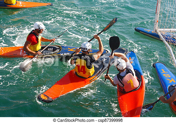 Canoe polo competition - csp87399998