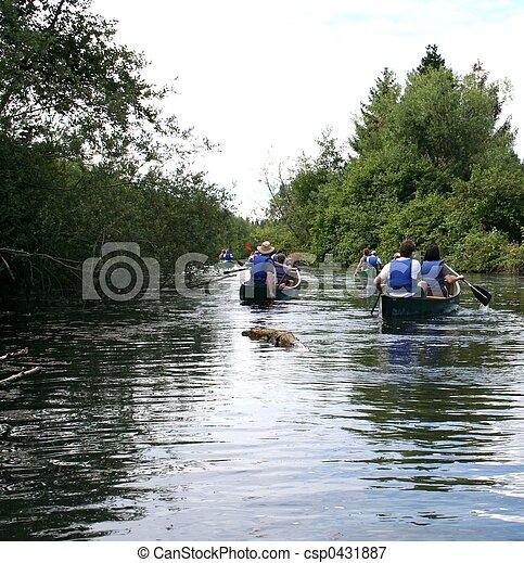 Canoeing - csp0431887