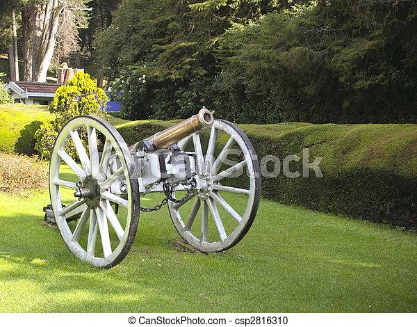 canon in botanical gardens - csp2816310