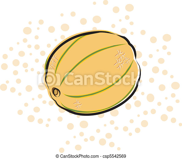 Cantaloupe A Cantaloupe On A Polka Dot Background Background Is On A Separate Layer And Can Be Turned Off Canstock See more of cantelope on facebook. https www canstockphoto com cantaloupe 5542569 html