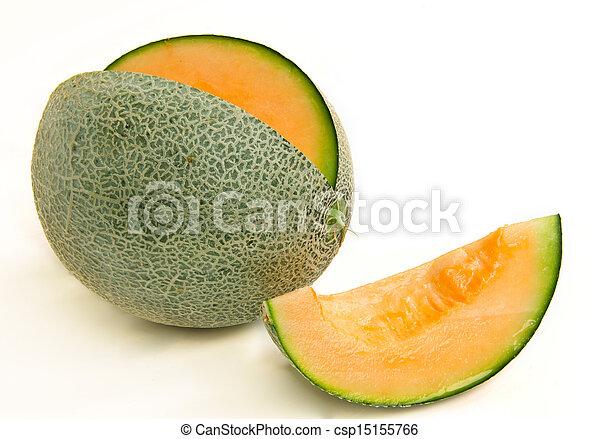 cantaloupe melon - csp15155766