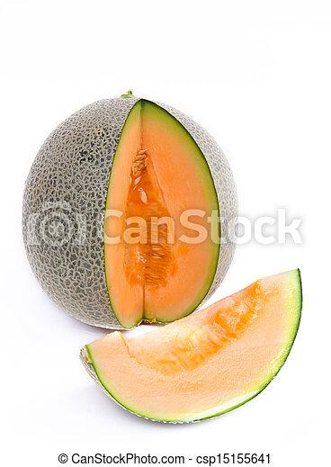 cantaloupe melon - csp15155641