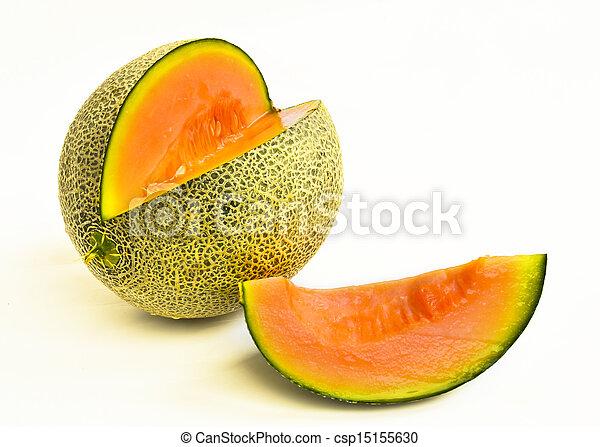 cantaloupe melon - csp15155630