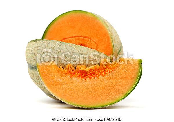 cantaloupe melone - csp10972546