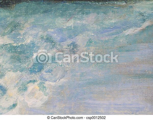 Canvas Texture - csp0012502