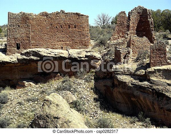Canyon Castle - csp0282317