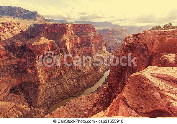 canyon, grandiose - csp31655918