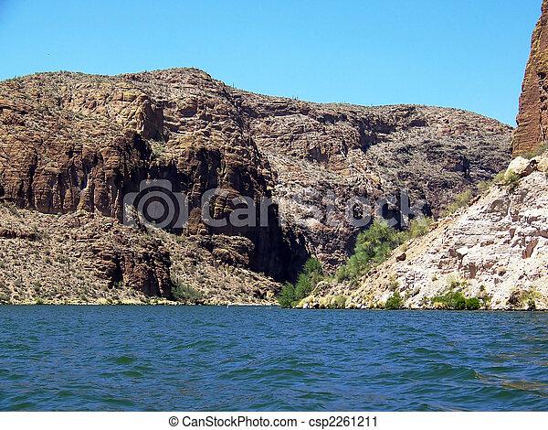 Canyon Lake, Arizona - csp2261211
