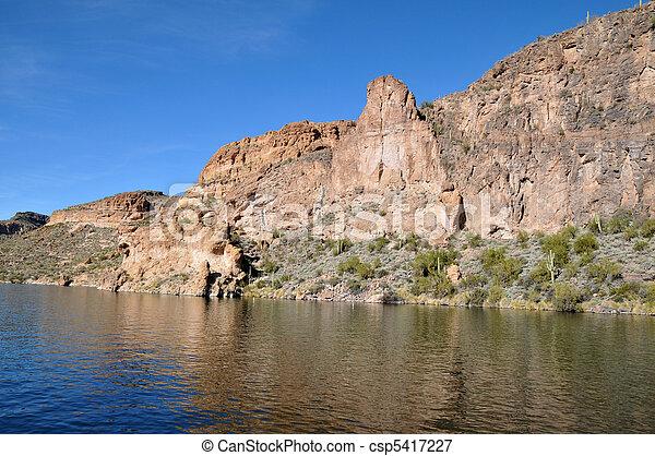 Canyon Lake, Arizona - csp5417227