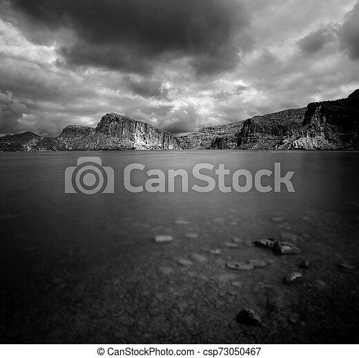 Canyon Lake Arizona - csp73050467