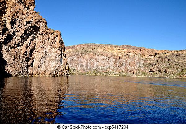 Canyon Lake, Arizona - csp5417204